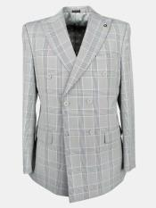 Grey Six Button Cheap Priced Dress Suit For Sale