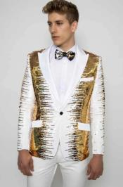 Encore-White/Gold
