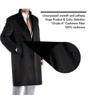 Percent Pure Cashmere Full Length Mens Long Mens Dress