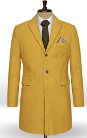 Wool Yellow - Gold Overcoat Pre Order September/15/2020
