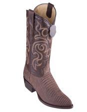 Los Altos Boots Lizard Teju Sanded