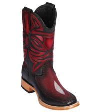 Los Altos Boots Single Stone Stingray