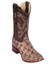 Los Altos Boots Pirarucu Cowboy Boots