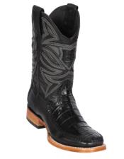 Los Altos Boots Caiman Belly and