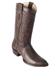 Los Altos Boots Lizard Teju R-Toe