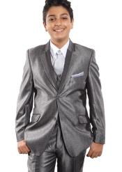 Grey Boys Suit