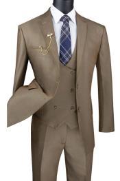 Tan Tuxedo - Champaign - Khaki Color Suit