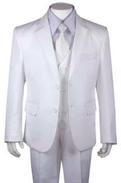 Husky Church Suit White