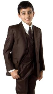Two button notch lapel Suit