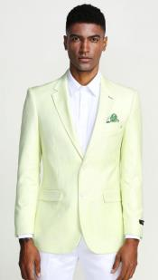 Mint Green Blazer - Light Green