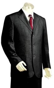 3 Button Suit Classic Fit Athletic