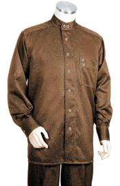 Brown Imported Long Sleeve Walking Suits