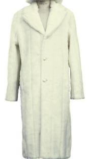 Fur Overcoat - Long Top Coat Full length Coat
