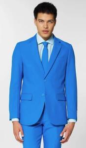 Electric Blue Suit