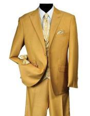 Mens Mustard Suit