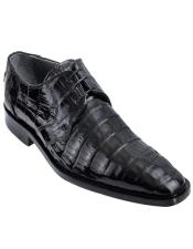 Mens Los Altos Boots Black Genuine