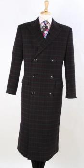 100% Wool Overcoat -