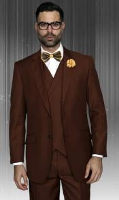 Classic Fit Suit Mens Suit Statement