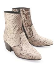 Altos Short Cowboy Boot - Western Ankle Boots Exotic