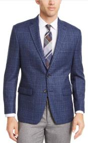 Windowpane Checker Slim Fit
