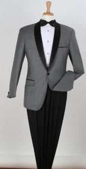 Grey Tuxedo - Gray Tux With