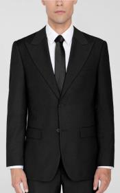 Lapel Suit Black
