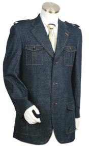 blazer - Denim Sport