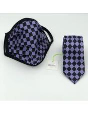 Checkered Micro Fiber Protective Face Mask