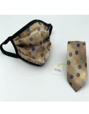 Protective Face Mask And Matching Tie