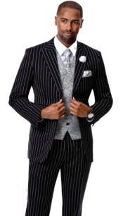 Samuel Fashion Fashion Suit Black
