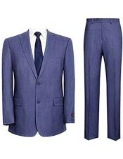 Denim Blue Suit