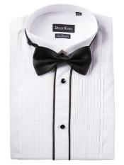 Tuxedo Shirt - Available in Big and Tall Sizes