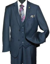 Falcone Suit Brand - Mens Navy
