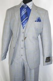 Falcone Suit Brand - Light Gray