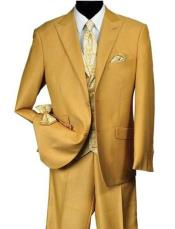 Falcone Suit Brand - Mens Mustard