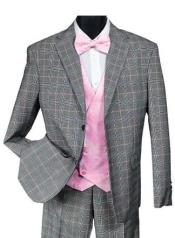 Falcone Suit Brand - Mens Black
