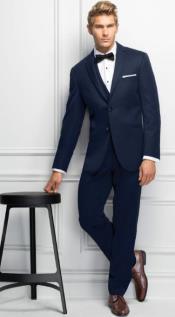 Kors Tuxedo - Michael Kors Blue Tuxedo - Michael