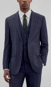 Pinstripe Suits - Pattern Suit