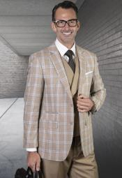 Plaid Suit - Windowpane Suit +