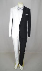 Men Peak Lapel Wedding Suit