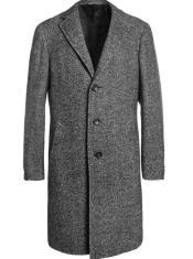Overcoat - Mens 1930s Overcoat