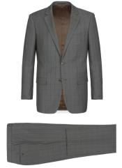 RenoirMarinoClassicFitSuitStyle#PlaidSuit-Checkered