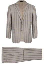 RenoirTattagliaClassicFitSuitStyle#PlaidSuit-Checkered