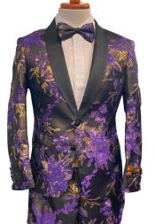 Floral Suits - Paisley Suit -