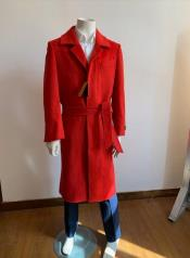 Full Length Overcoat - Wool