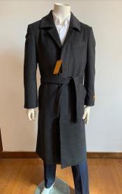 Full Length Overcoat - Wool