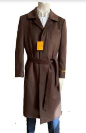 Mens Overcoat - Full Length Topcoat