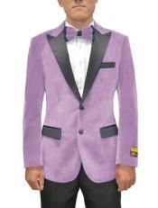 Lavender Velvet Blazer - Lilac Velvet