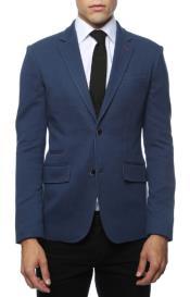 Mens Blue Blazer - Blue Sport