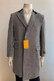Mens Overcoat - Peak Lapel 1920s